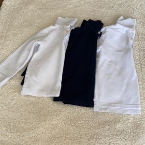 School uniform 3 tops long sleeves for boys